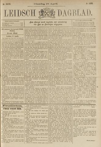Leidsch Dagblad 1893-04-18