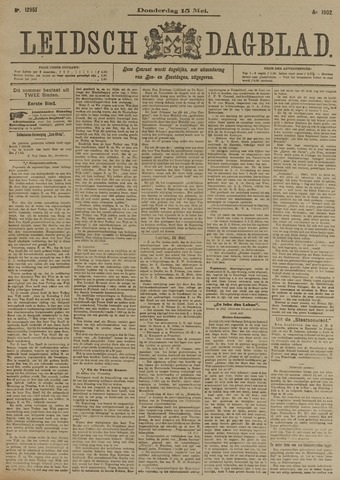 Leidsch Dagblad 1902-05-15