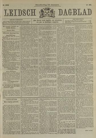 Leidsch Dagblad 1911-01-19