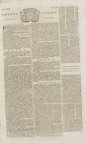 Leydse Courant 1818-04-22