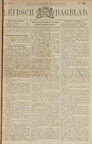 Leidsch Dagblad 1885-12-31