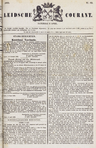 Leydse Courant 1882-04-08