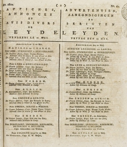 Leydse Courant 1812-05-22