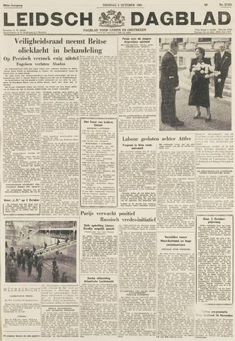 Leidsch Dagblad 1951-10-02