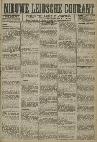 Nieuwe Leidsche Courant 1923-11-07