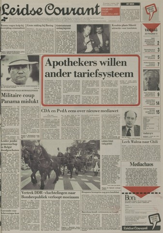 Leidse Courant 1989-10-04