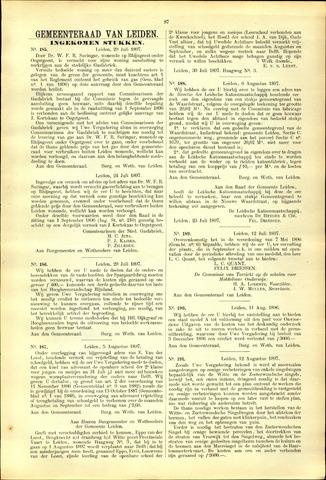 Handelingen van de Raad 1897-07-29