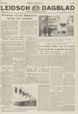 Leidsch Dagblad 1956-12-27