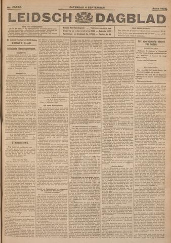 Leidsch Dagblad 1926-09-04