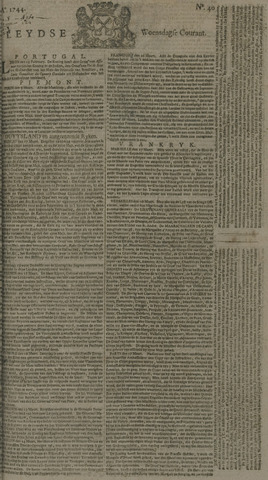 Leydse Courant 1744-04-01