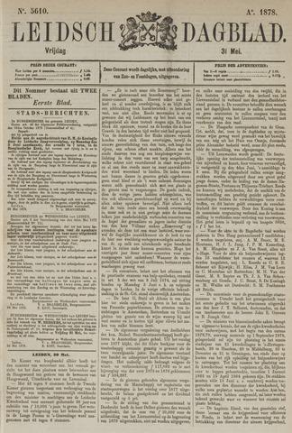 Leidsch Dagblad 1878-05-31