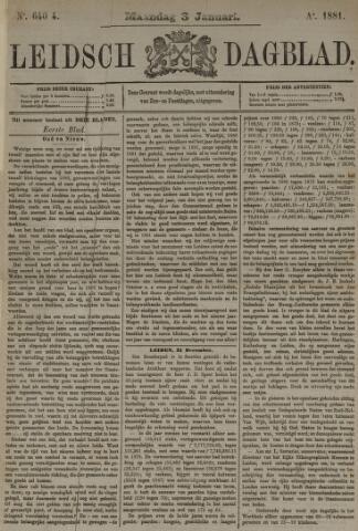 Leidsch Dagblad 1881