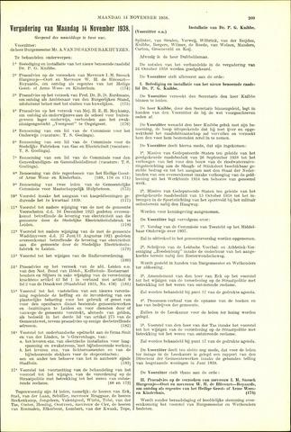 Handelingen van de Raad 1938-11-14