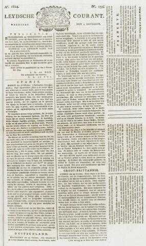 Leydse Courant 1824-11-03