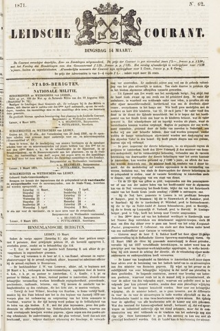Leydse Courant 1871-03-14