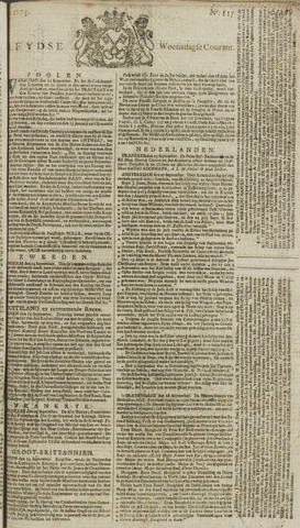 Leydse Courant 1773-09-29