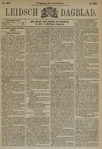 Leidsch Dagblad 1890-10-31