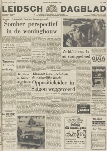 Leidsch Dagblad 1967-09-29
