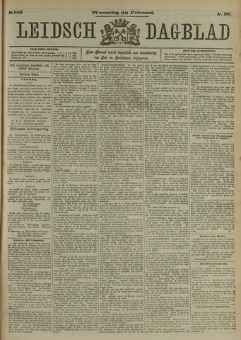Leidsch Dagblad 1907-02-20
