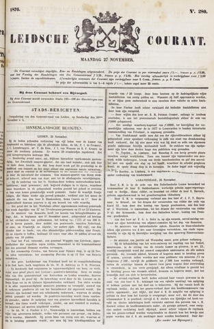 Leydse Courant 1876-11-27