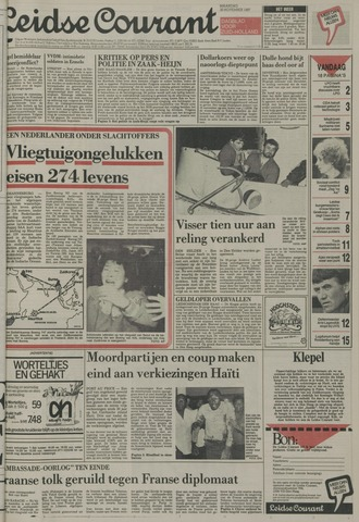 Leidse Courant 1987-11-30