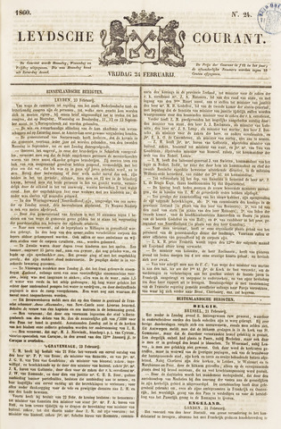Leydse Courant 1860-02-24