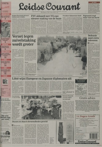 Leidse Courant 1992-04-16
