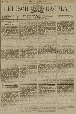 Leidsch Dagblad 1890-07-22