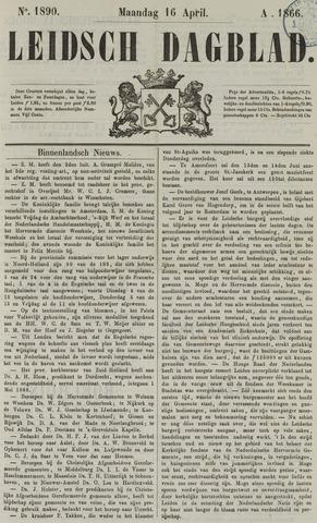 Leidsch Dagblad 1866-04-16