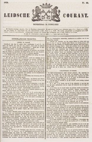 Leydse Courant 1876-02-24
