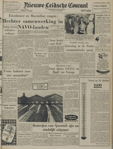 Nieuwe Leidsche Courant 1957-10-26