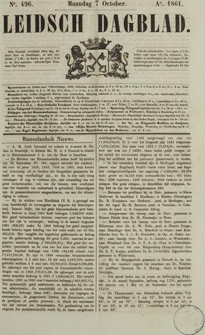 Leidsch Dagblad 1861-10-07