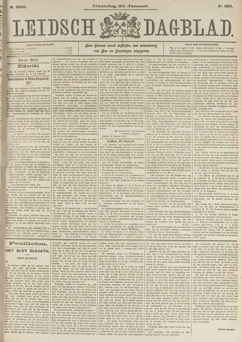 Leidsch Dagblad 1894-01-22