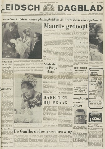 Leidsch Dagblad 1968-09-10