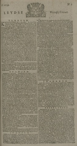 Leydse Courant 1739-01-16
