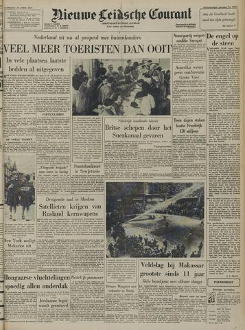 Nieuwe Leidsche Courant 1957-04-20