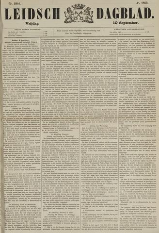 Leidsch Dagblad 1869-09-10