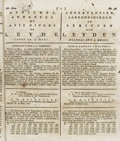 Leydse Courant 1812-03-23
