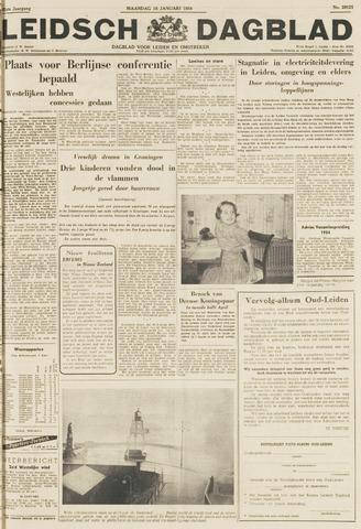Leidsch Dagblad 1954-01-18