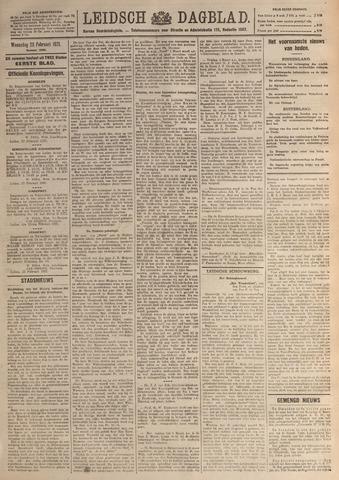 Leidsch Dagblad 1921-02-23