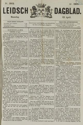 Leidsch Dagblad 1869-04-12