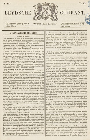 Leydse Courant 1846-01-28