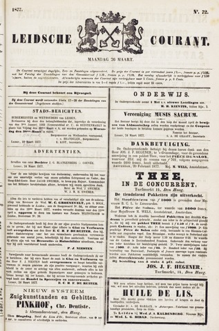 Leydse Courant 1877-03-26
