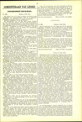Handelingen van de Raad 1934-07-06