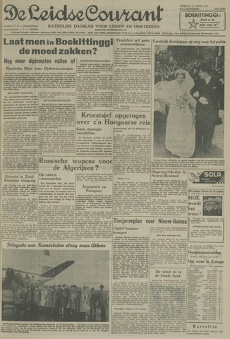 Leidse Courant 1958-04-11