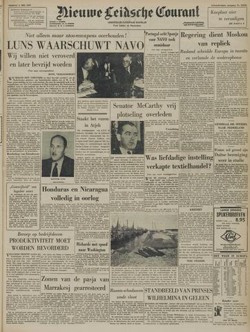 Nieuwe Leidsche Courant 1957-05-03