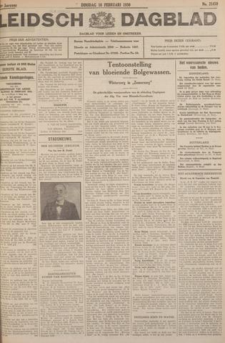 Leidsch Dagblad 1930-02-18