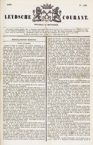 Leydse Courant 1869-09-21