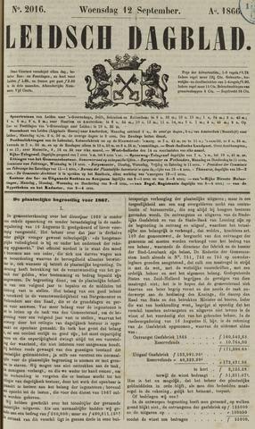 Leidsch Dagblad 1866-09-12