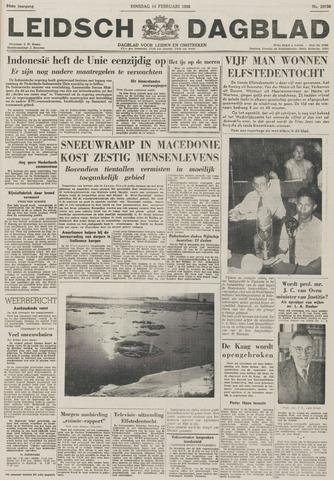 Leidsch Dagblad 1956-02-14